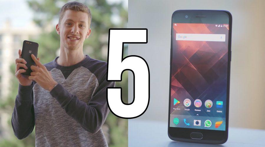TEST du OnePlus 5 : Pas aussi parfait qu'il en a l'air !