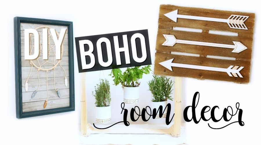 DIY Boho Style Room Decor / Deco Chambre (français)