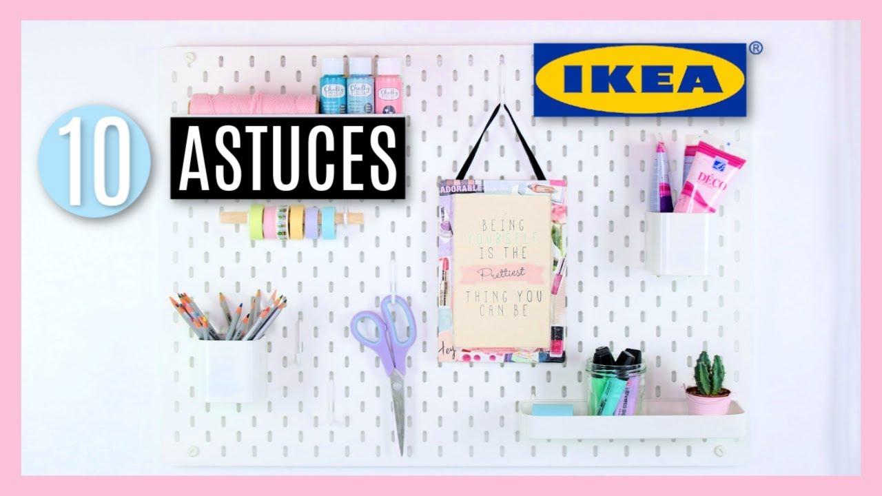 10 astuces ikea rangement et organisation petits conseils. Black Bedroom Furniture Sets. Home Design Ideas