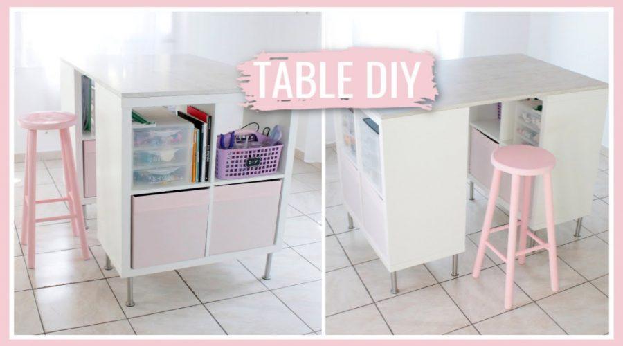 FABRIQUER UNE TABLE DE DIY : DIY Facile & Pas Cher !