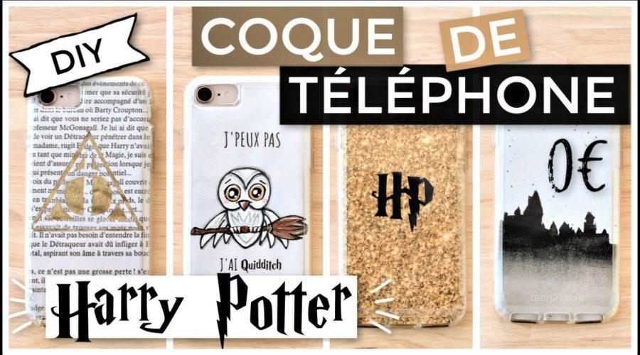 DIY Coque de Téléphone Facile 0€ : HARRY POTTER (français)