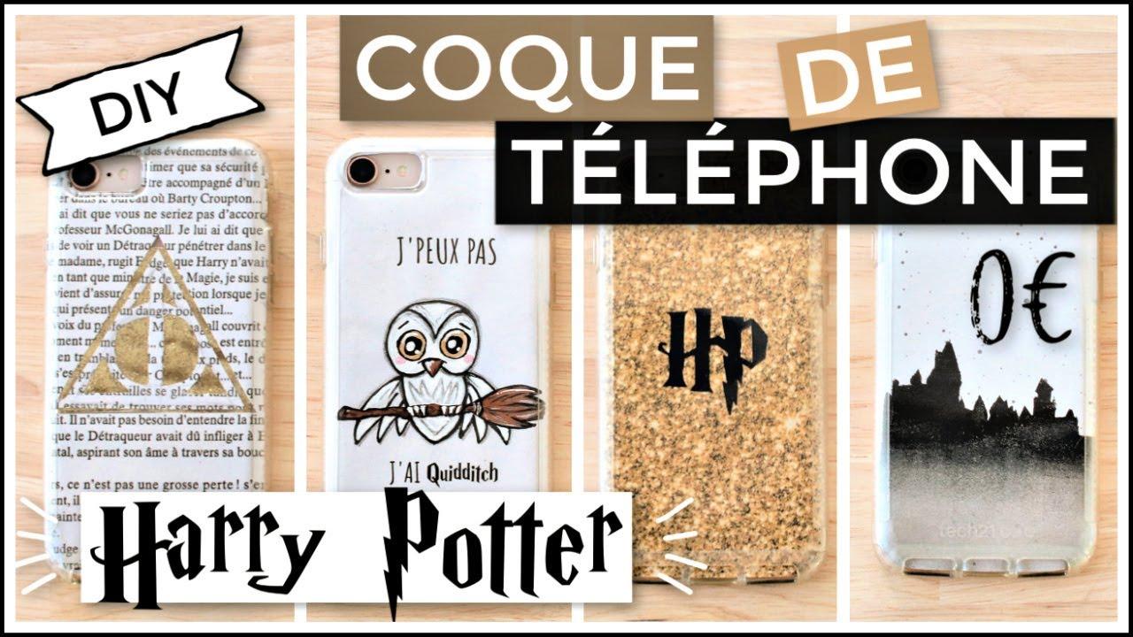 Diy Coque De Telephone Facile 0 Harry Potter Francais Petits Conseils