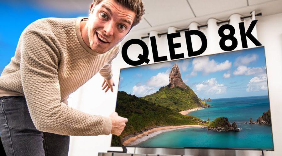 J'AI INSTALLÉ UNE TV Samsung QLED 8K AU STUDIO !