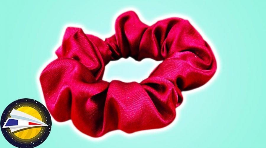 Coudre un chouchou | Satiné et facile à faire | Couture pour débutants | Restes de tissu | DIY