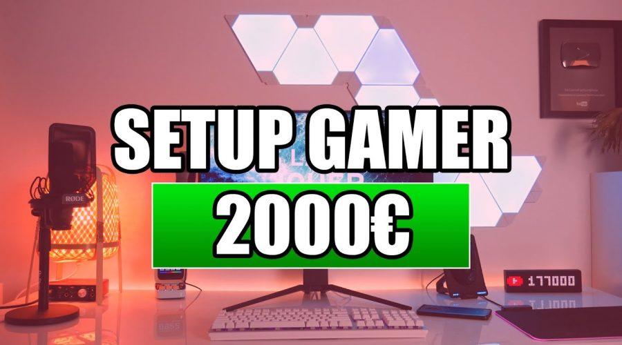 MON SETUP GAMER 2020 A 2000€ !
