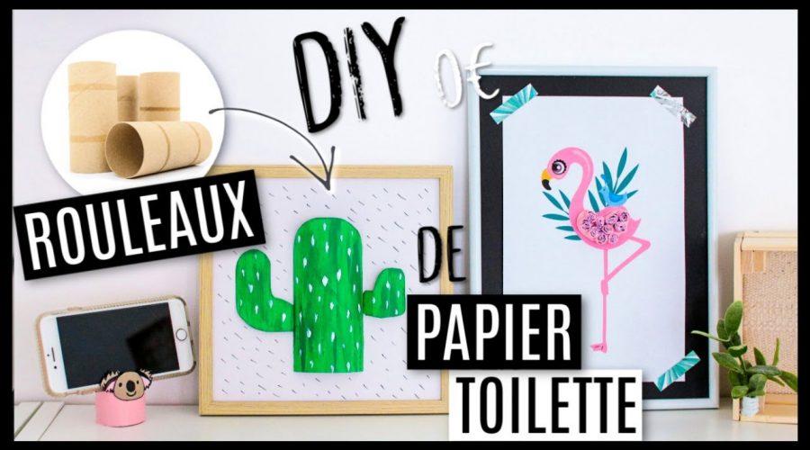 DIY 0€ AVEC DES ROULEAUX DE PAPIER TOILETTE ! #2