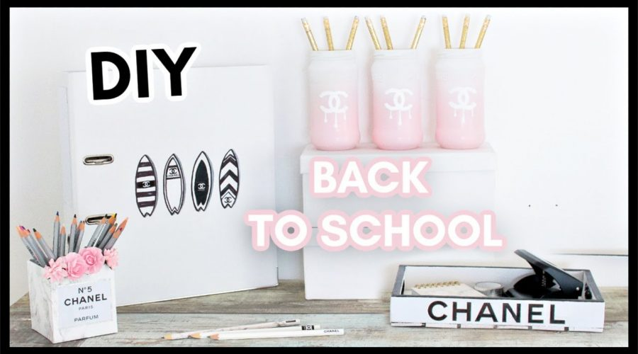 DIY BACK TO SCHOOL CHANEL : Facile & Pas Cher !