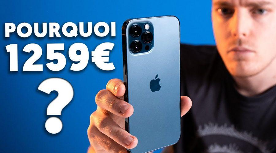 Pourquoi cet iPhone 12 Pro Max coûte 1.200€ ?!