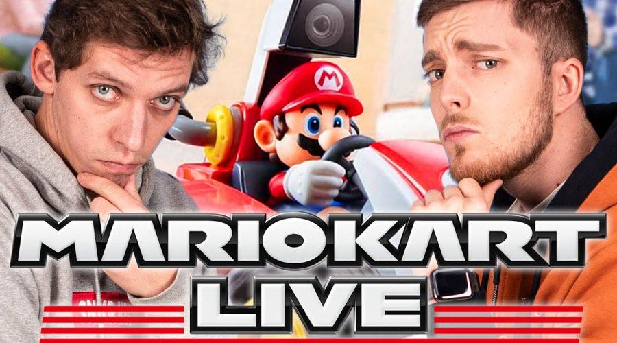 On teste enfin Mario Kart en réalité augmentée !!