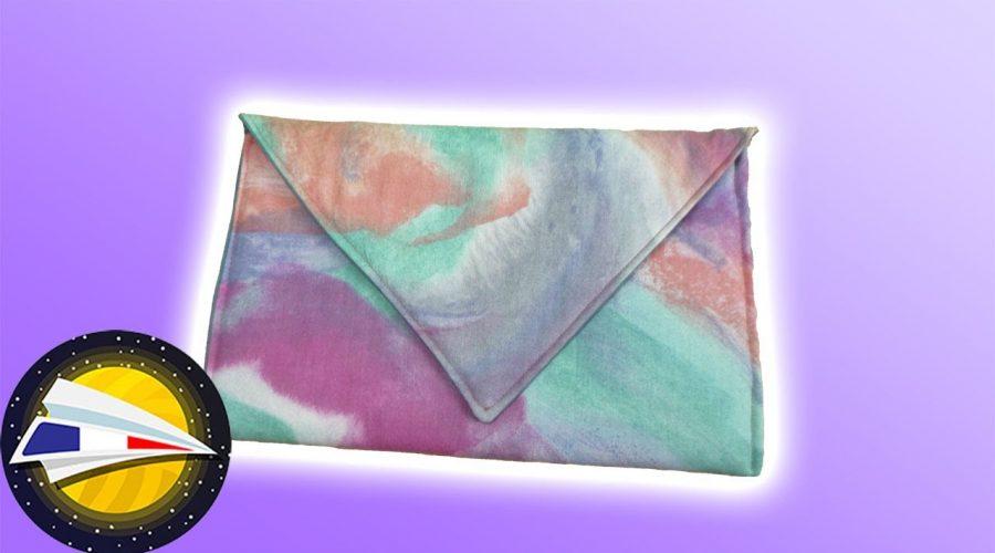 Coudre un sac enveloppe | Sans patron | Couture pour débutants | DIY