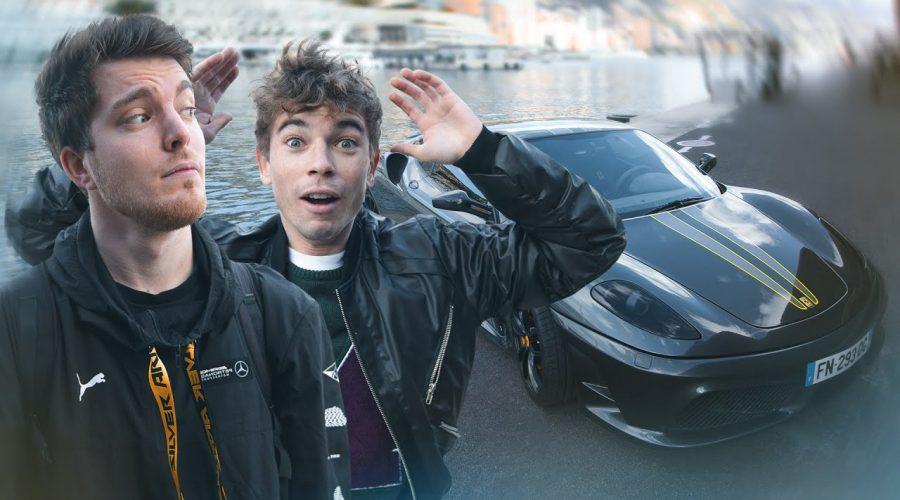 Il me laisse conduire sa Ferrari 430 Scuderia !! x Seb Delanney