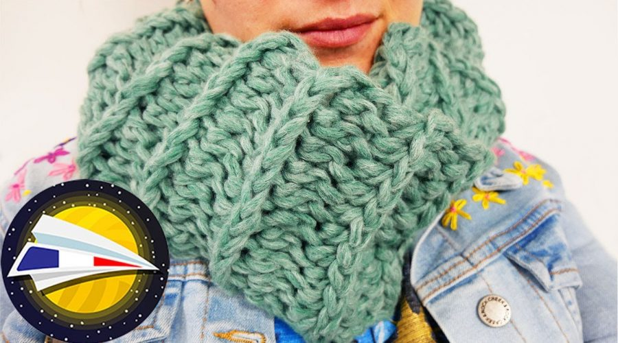 Snood avec la WOOLLY HUGS SHEEP | Super moelleux & chaud