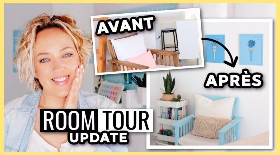 AVANT / APRÈS : JE TRANSFORME MA DÉCO (Room Tour Update)
