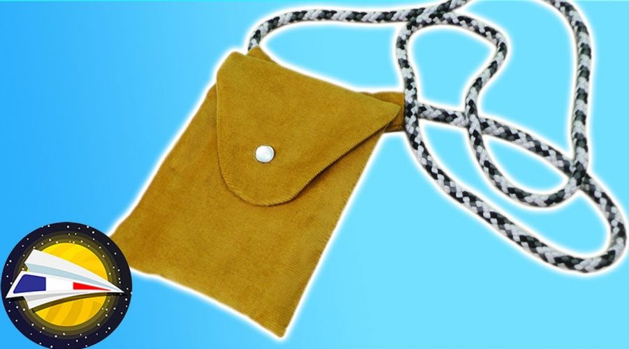 Coudre une pochette pour téléphone sans patron | Crossbody Bag avec corde