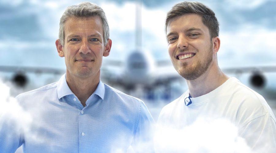 20 minutes avec le Vice Président d'Airbus