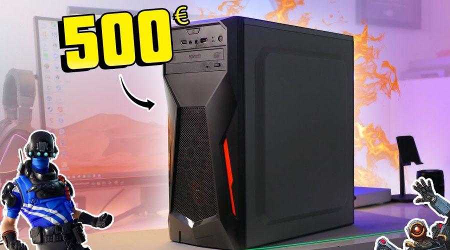 J'AI ACHETÉ UN PC GAMER À 500€ SUR AMAZON POUR JOUER À FORTNITE, APEX et CS GO !
