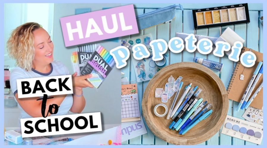 HAUL BACK TO SCHOOL 2021 Papeterie + CONCOURS