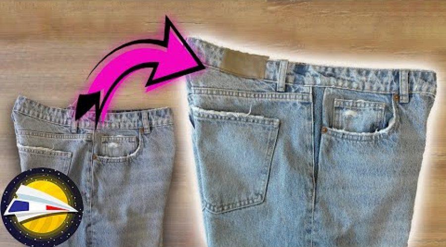 Elargir un jean   Idée couture utile   DIY